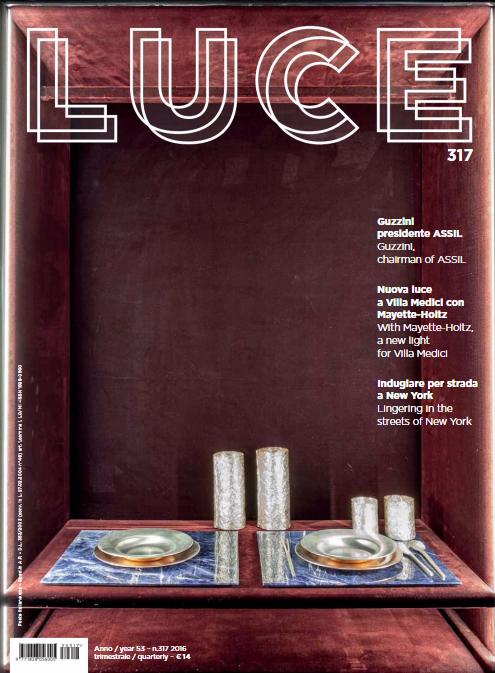 LUCE Magazine_n.317_ottobre 2016_COVER